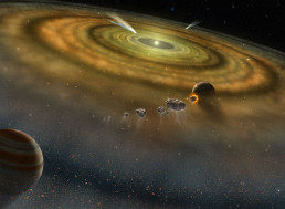 The Life and Death of Our Solar System: The Stardust Genesis