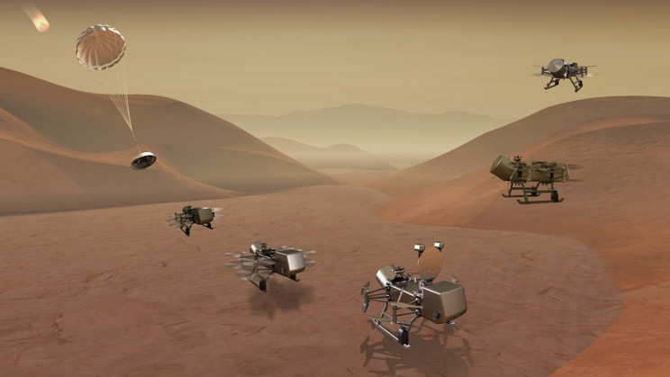 NASA Ramps up Its Search For Alien Life With 2030s Titan Mission