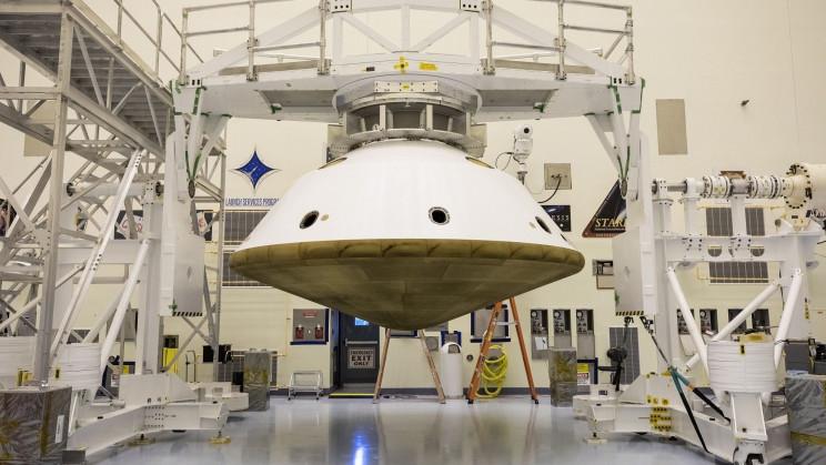 NASA Contracts Lockheed Martin for Its Next Mars Lander's 'Aeroshell'