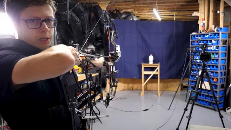 Inventor Builds Autonomous Bow That Never Misses the Target