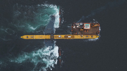 680-Metric-Ton Tidal Turbine Starts Exporting Clean Power to the Grid
