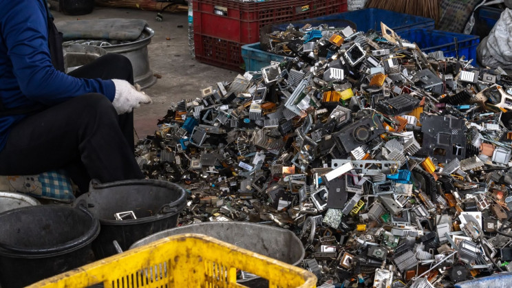 Tokyo's Olympic Medals Are Made of 47 Tons of Recycled E-Waste