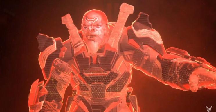 Halo Infinite Brute Antagonist Hologram