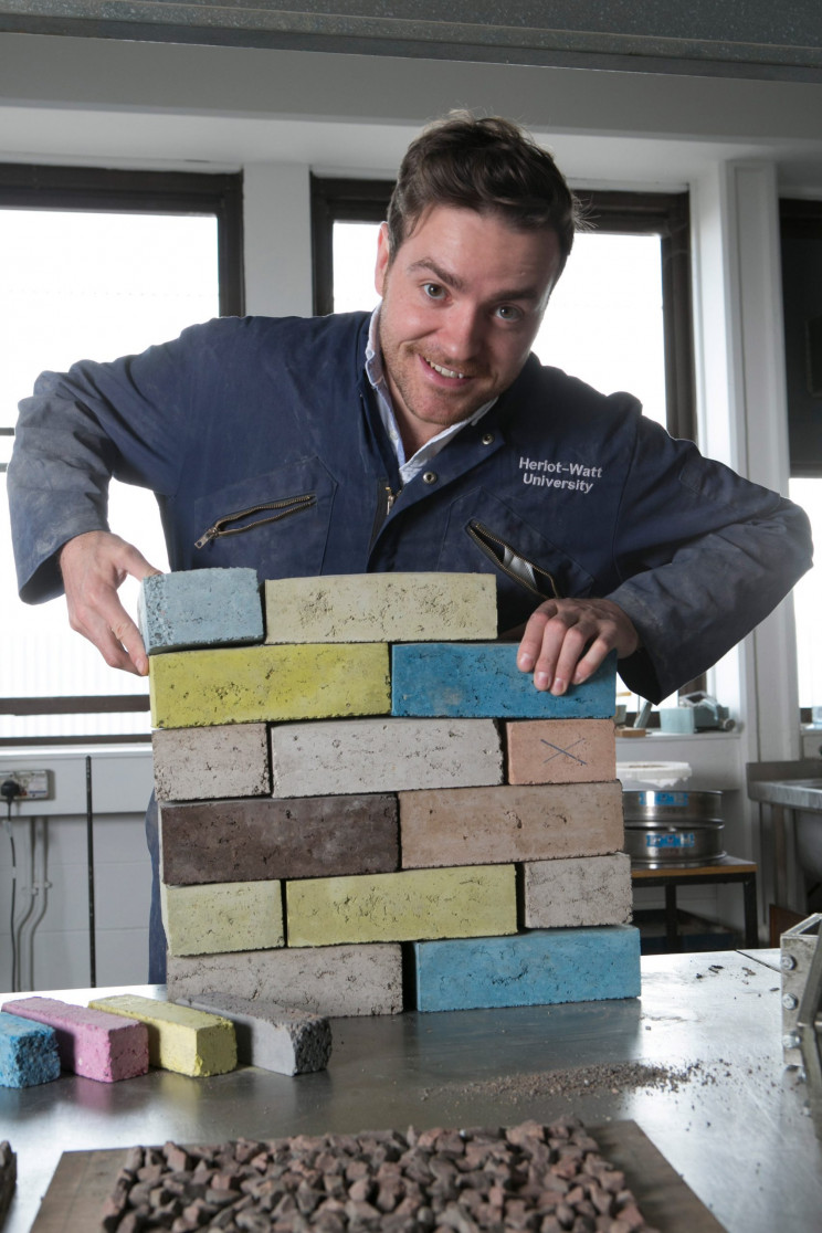 Scottish Startup Creates Eco-Friendly Brick Using Construction Waste