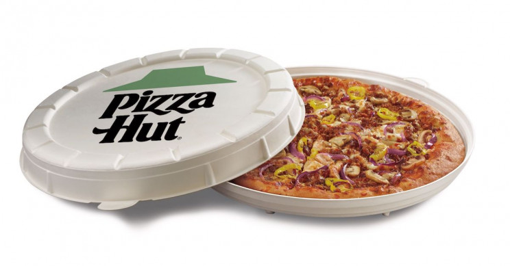 Pizza Hut Is Testing Round Pizza Boxes and Plant-Based 'Meat' Toppings