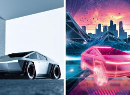 7 Eye-Catching Photoshop Redesigns of Tesla's Cybertruck