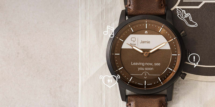 Fossil Blends Classic Design with Modern Tech in Their New Hybrid HR Watch