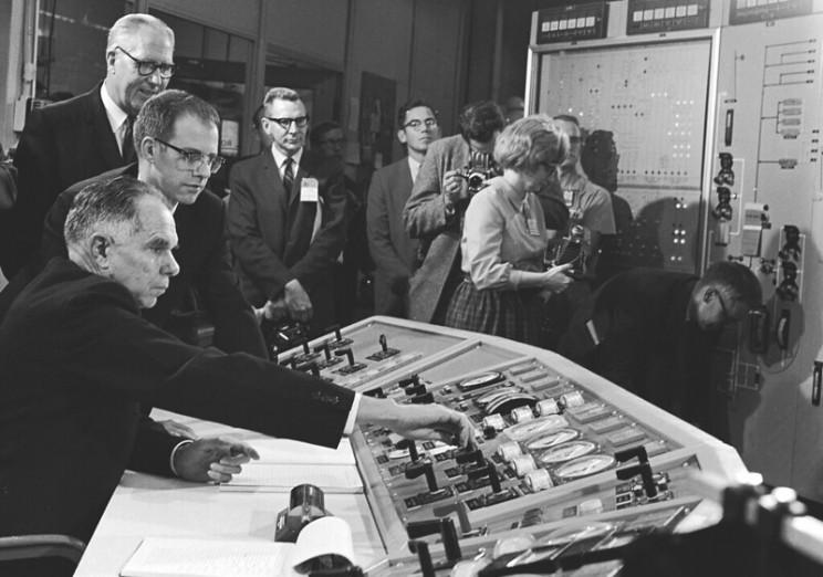 early molten salt reactors 1960s