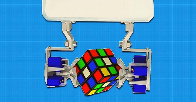 Origami-Inspired Robot Fingertip Morphs to Grasp, Move Any Shape