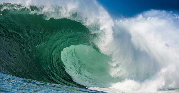 Yep. That wave sure is full of salt.