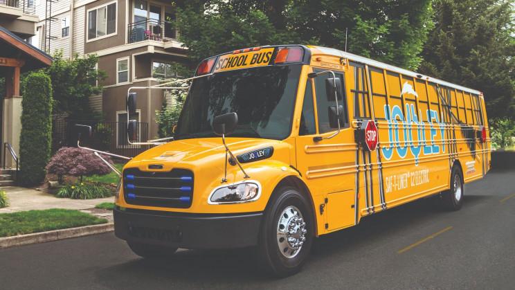 EV School Bus Firms Are Electrifying US School Transportation