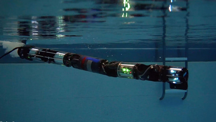 Snake-Like Robot Hits the Pool For Underwater Testing