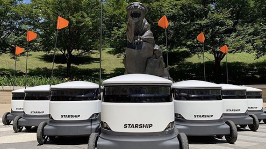 Starship Technologies to Launch Thousands of Autonomous Food Delivery Robots Across Colleges