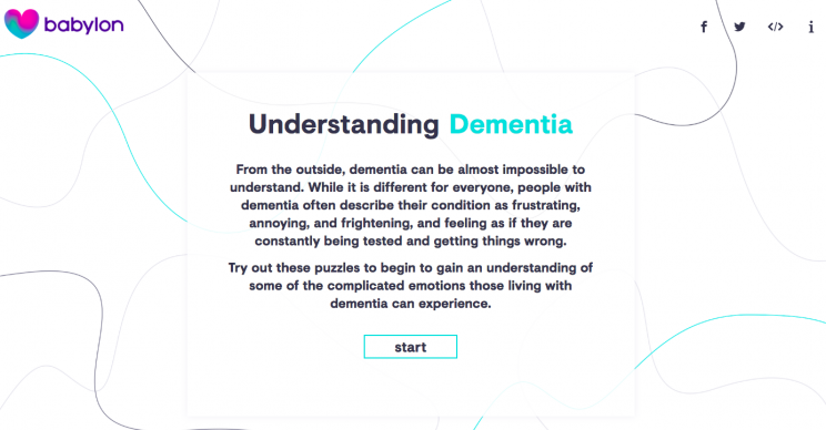These Puzzles Will Make You Understand Just What It's like to Live with Dementia
