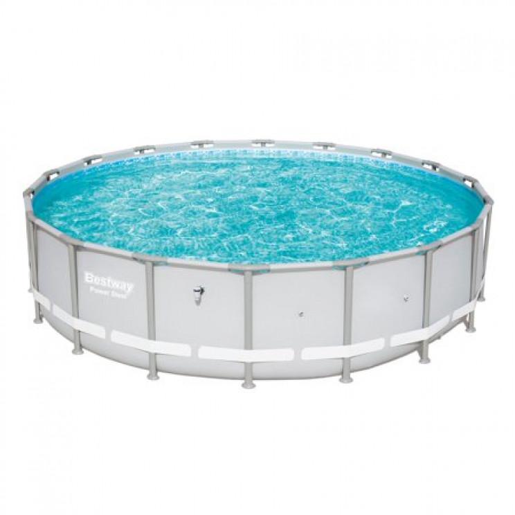 temp outdoor pool bestway