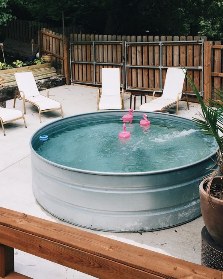 temp pools tank