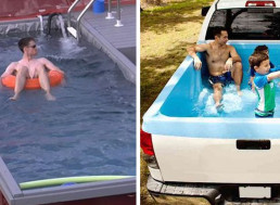 20 Temporary Swimming Pools to Cool Off Your Summer
