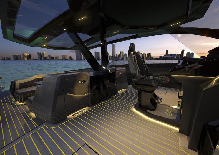 Automobili Lamborghini Reveals Iconic Motor Yacht 'Tecnomar for Lamborghini 63'