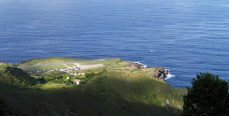 most dangerous airports saba
