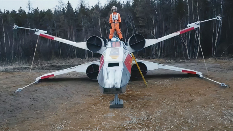 The Iconic Star Wars X-Wing Fighter Just Emerged Into Reality in Russia
