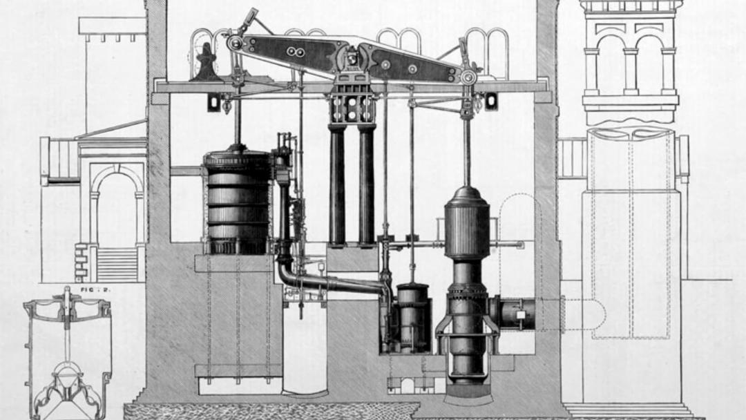 worlds biggest engines 100 inch