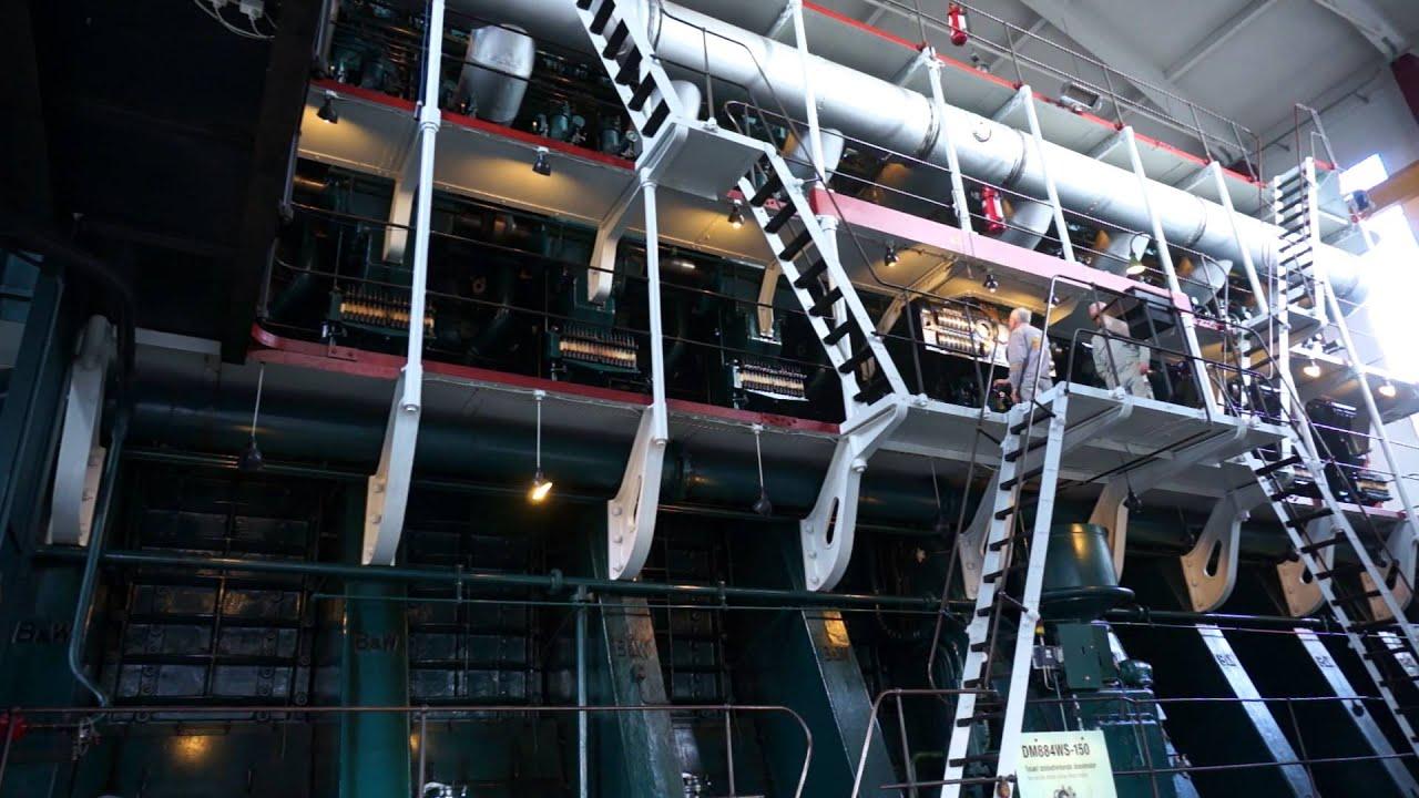 worlds largest engines diesel