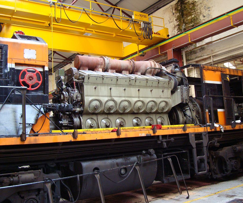 world's biggest engines EMD 645