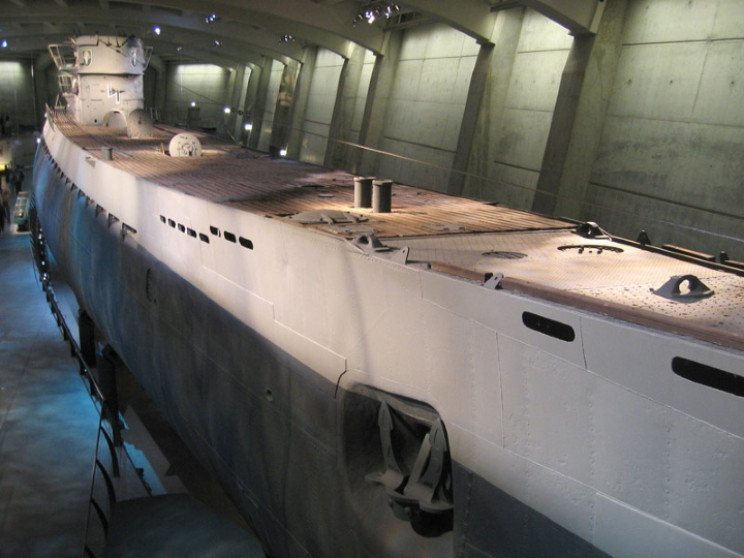 U505 submarine