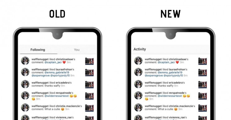 Instagram No Longer Allows Its Users to Follow Other Users' Activities