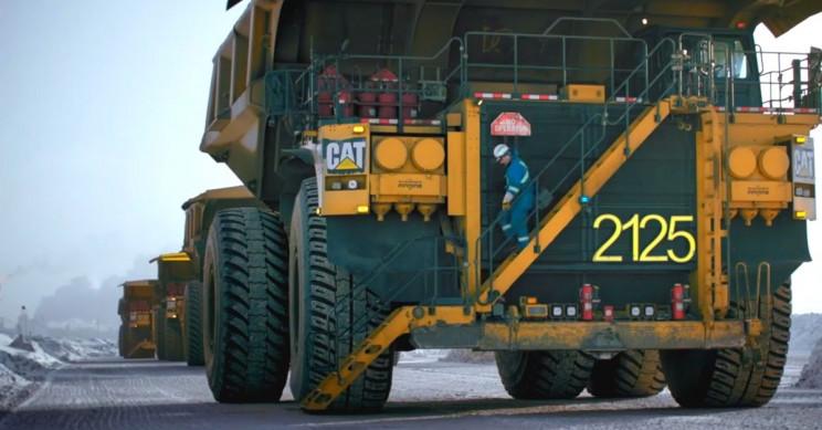 Caterpillar Truck Line