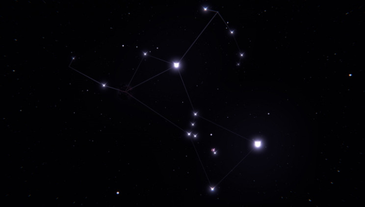 Orion without Betelgeuse