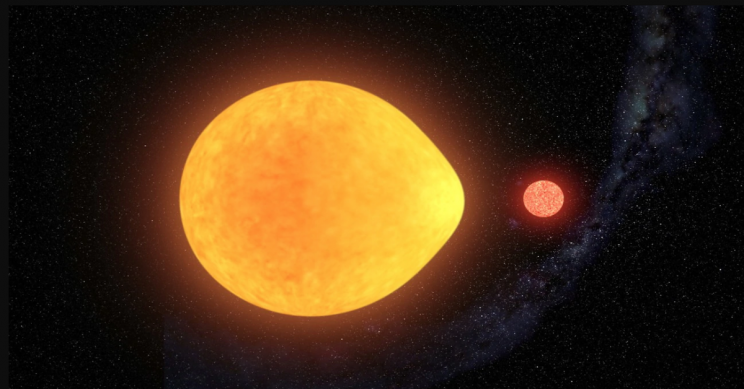 Teardrop-Shaped Star Only Pulses on One Side, Making It the First of Its Kind