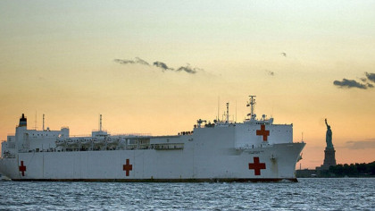 Everything You Need To Know About The Navy Hospital Ship USNS Comfort