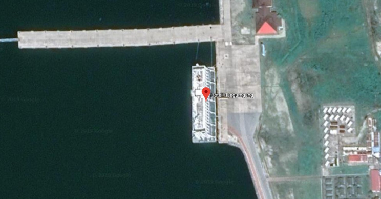 floating hotel north korea final resting place