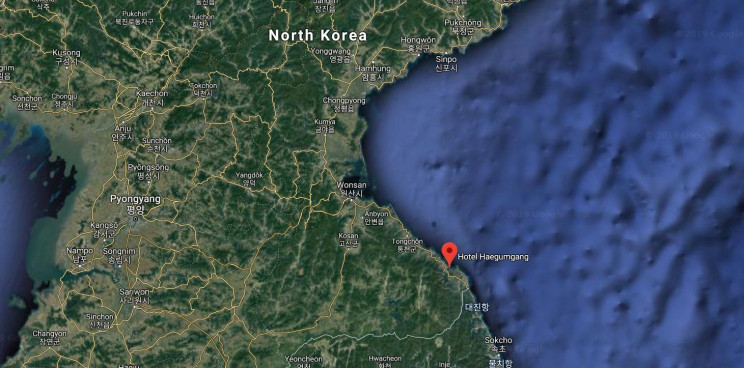 floating hotel north korea