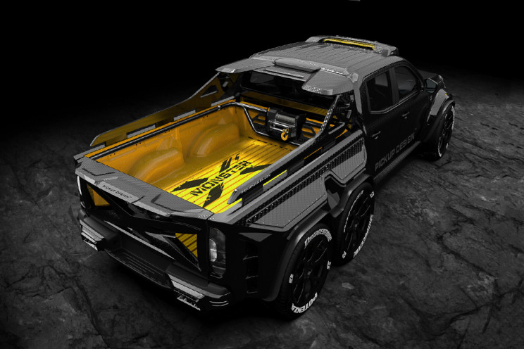 Mercedes-Benz X-Class EXY 6×6 Is the Pickup Truck of Your Dreams