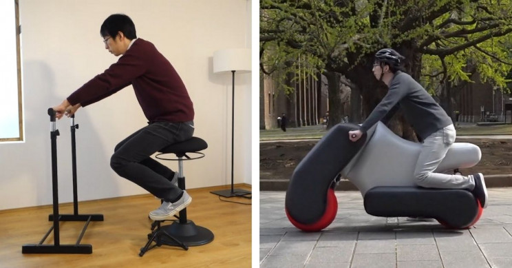 This Scooter Adapts to User's Posture, Even Becomes a Wheelchair