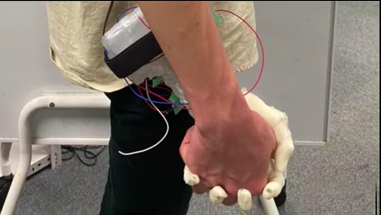 Japanese Inventors Create Wacky 'Robotic Girlfriend Hand'