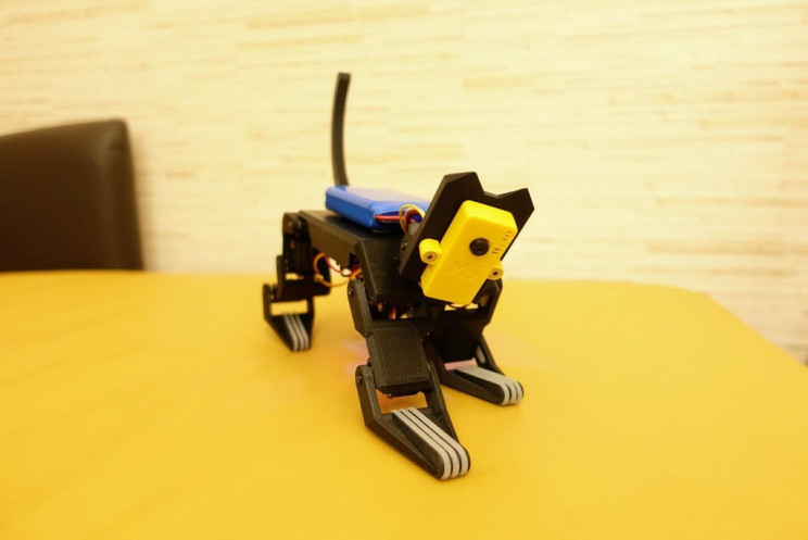 DIY Robot Cat Moves Just Like the Real Thing