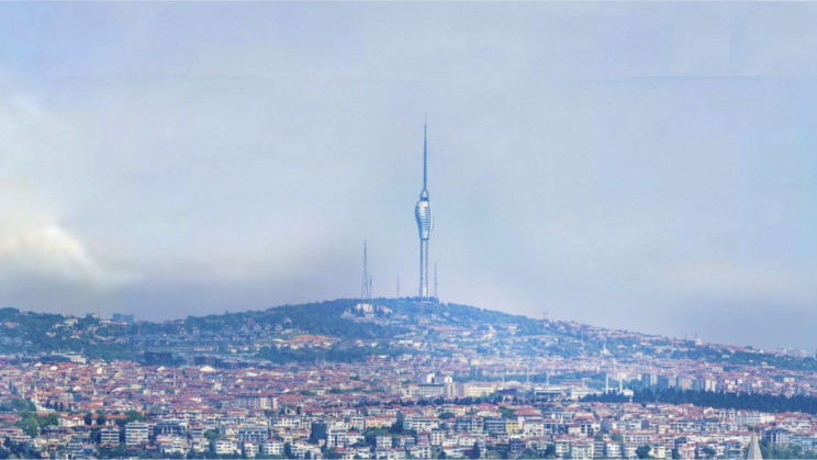Istanbul's New Futuristic TV and Radio Tower Gazes Upon Both Asia and Europe