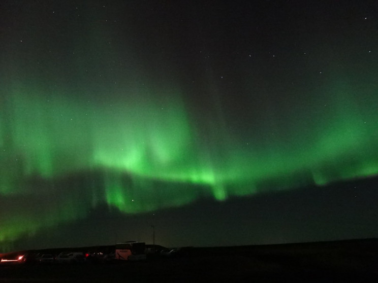 what causes the auroras