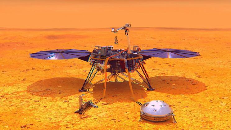 NASA's Lander Is About to Die on Mars