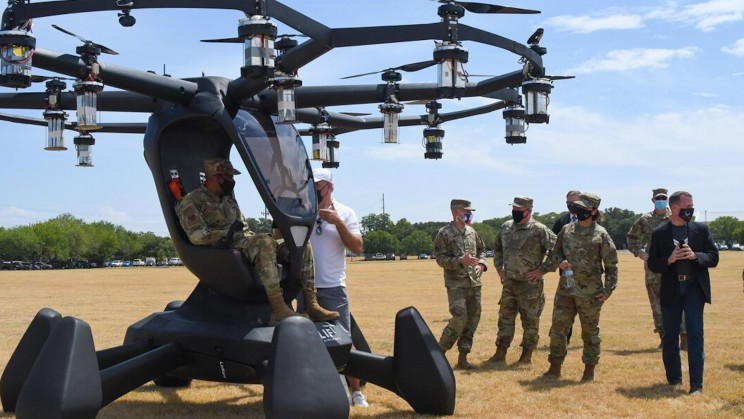 US Air Force To Use Autonomous Flying Cars to Pick Up The Injured