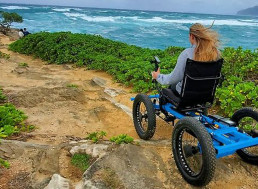 Inventor Who Built 'Wheelchair' Out of Electric Bikes for Girlfriend Starts Mass-Production