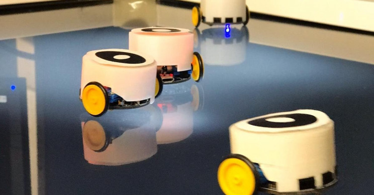 New Swarm Robotics System Takes Inspiration From Insect Pheromones