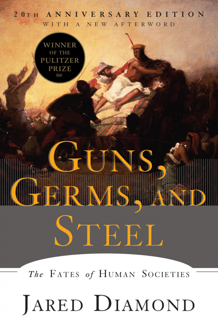 best science books guns germs steel