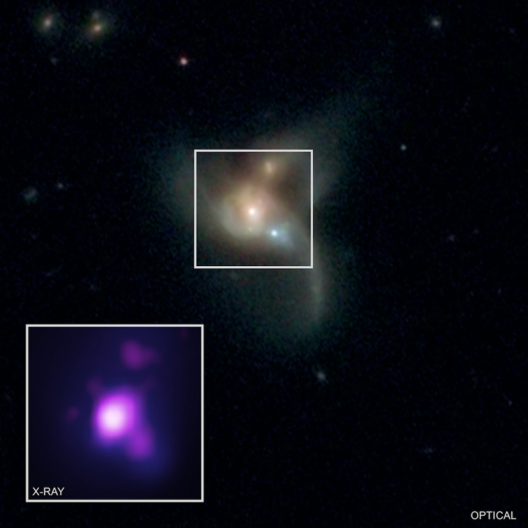 Astronomers Detects 3 Giant Black Holes That Are on a Collision Course
