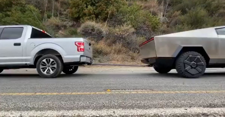 Cybertruck Pulls an F-150 Uphill, Still Not Impressed?