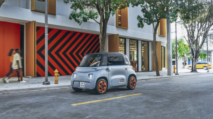 Citroën's New Two-Seater EV Will Only Cost You $22 a Month