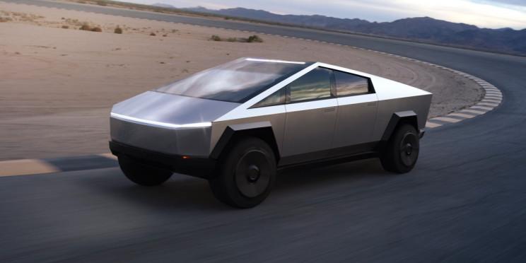 "Elon Musk Tweets That New Cybertruck Will Have ""Laser Blade Lights"""